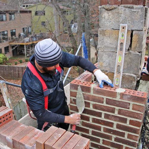 Chimney masonry repair in Martinsburg WV