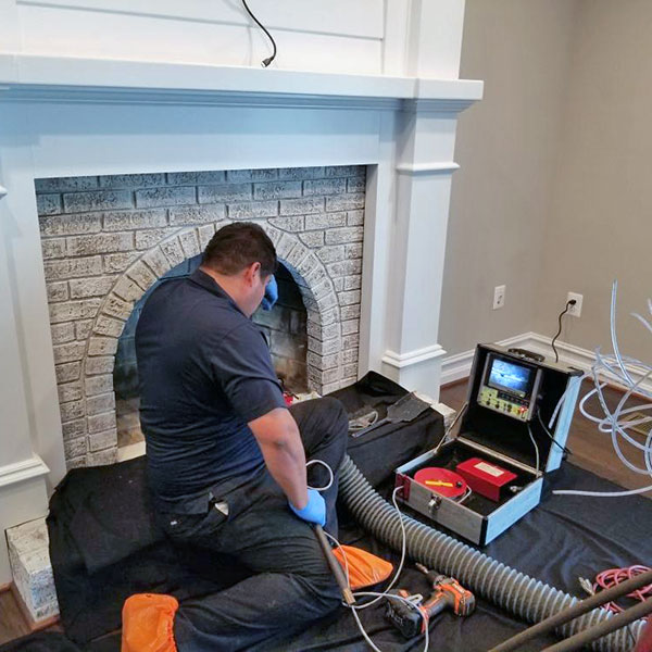 chimney inspection in Mount Airy MD
