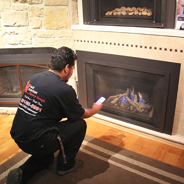 Gas Fireplace installation in Martinsburg WV