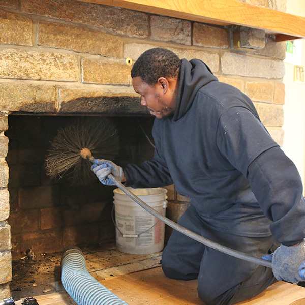 chimney sweep service in Mount Airy MD